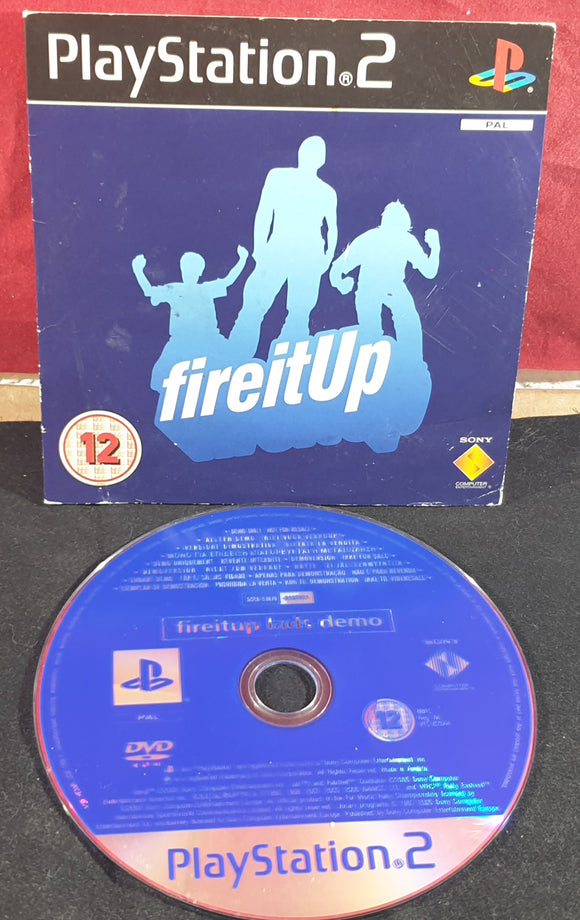 Fire it Up Sony Playstation 2 (PS2) RARE Demo Disc