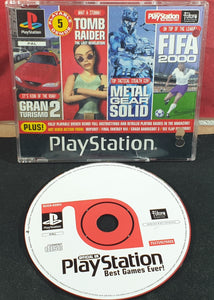 Sony Playstation 1 (PS1) Magazine Best Games Ever Demo Disc RARE