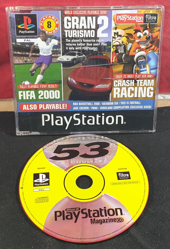 Sony Playstation 1 (PS1) Magazine Demo Disc 53