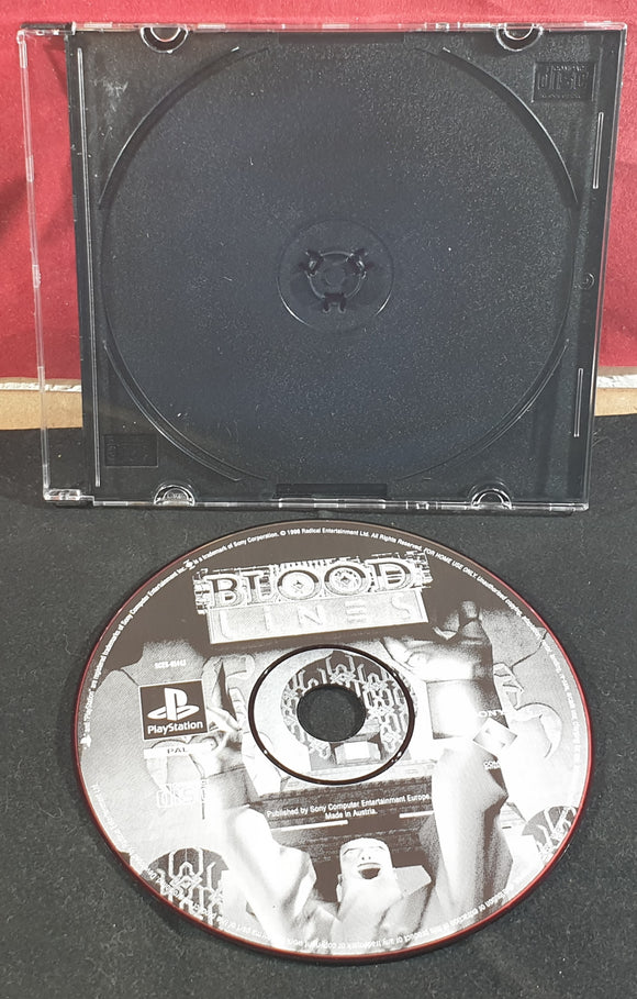 Blood Lines Sony Playstation 1 (PS1) Game Disc Only