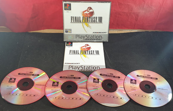 Final Fantasy VIII Platinum Sony Playstation 1 (PS1) Game