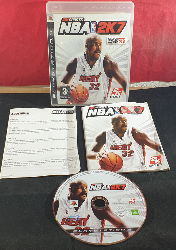 NBA 2K7 Sony Playstation 3 (PS3) Game