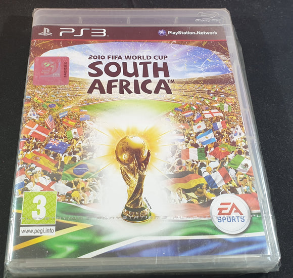 Brand New and Sealed 2010 FIFA World Cup South Africa Sony Playstation 3 (PS3) Game