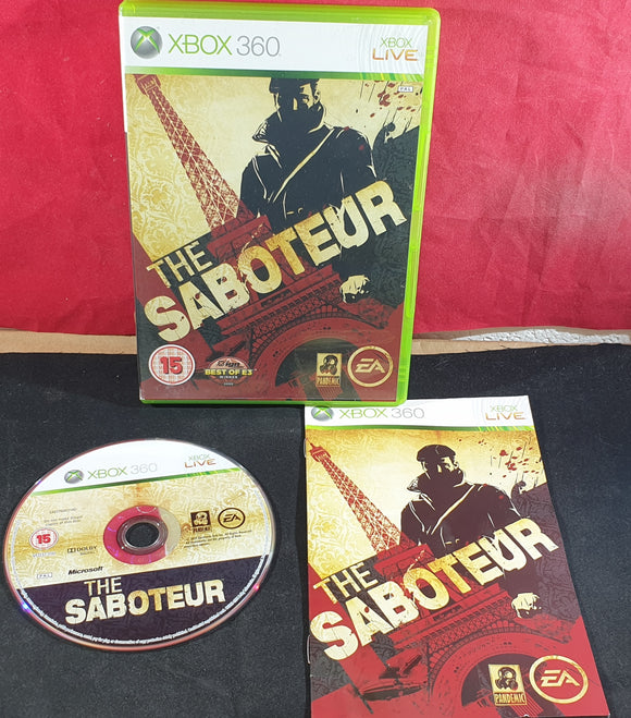 The Saboteur Microsoft Xbox 360 Game