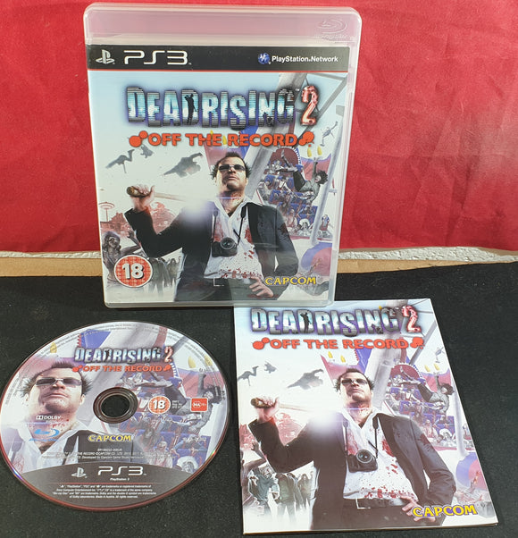 Dead Rising 2 Off The Record Sony Playstation 3 (PS3) Game