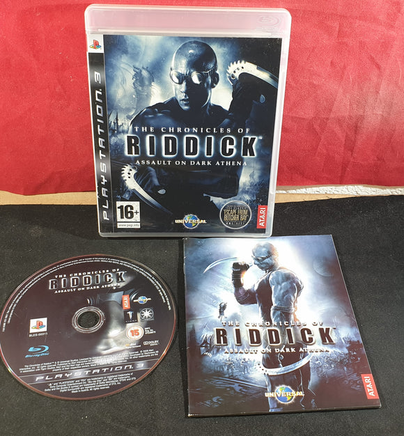 the Chronicles of Riddick Assault on Dark Athena Sony Playstation 3 (PS3) Game