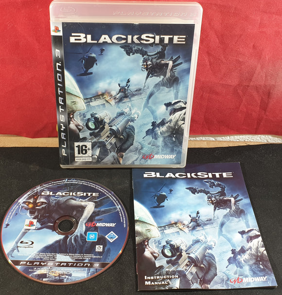 Blacksite Sony Playstation 3 (PS3) Game