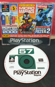 Sony Playstation 1 (PS1) Magazine Demo Disc 57