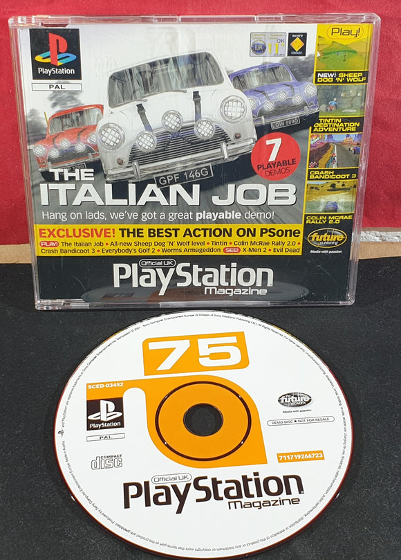 Sony Playstation 1 (PS1) Magazine Demo Disc 75
