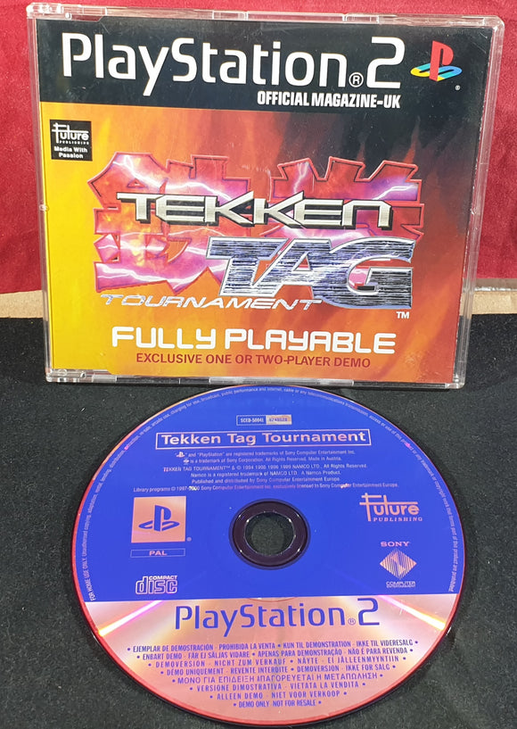 Playstation Magazine Tekken Tag Tournament Sony Playstation 2 (PS2) Demo Disc