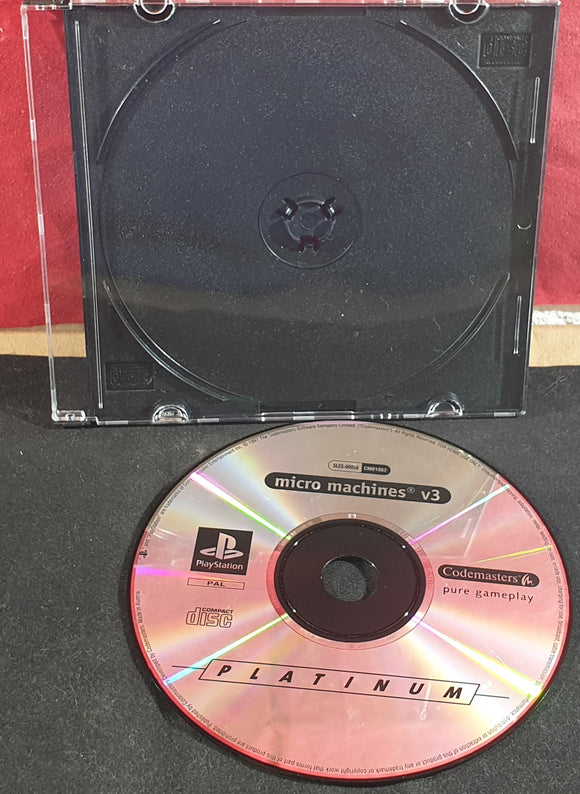 Micro Machines V3 Sony Playstation 1 (PS1) Game Disc Only