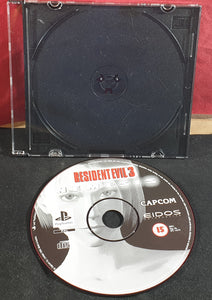 Resident Evil 3 Nemesis Sony Playstation 1 (PS1) Game Disc Only