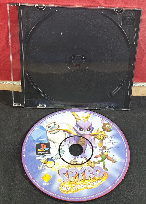 Spyro Year of the Dragon Sony Playstation 1 (PS1) Game Disc Only