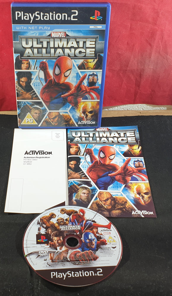 Marvel Ultimate Alliance Sony Playstation 2 (PS2) Game