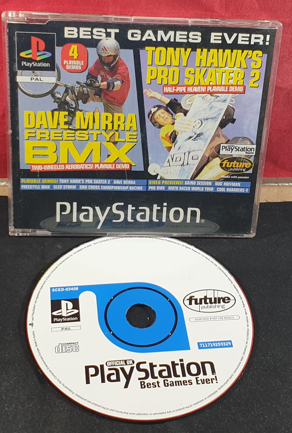 Sony Playstation 1 (PS1) Magazine Best Games Ever Extreme Sports Edition Demo Disc 9