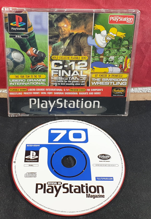Sony Playstation 1 (PS1) Magazine Demo Disc 70