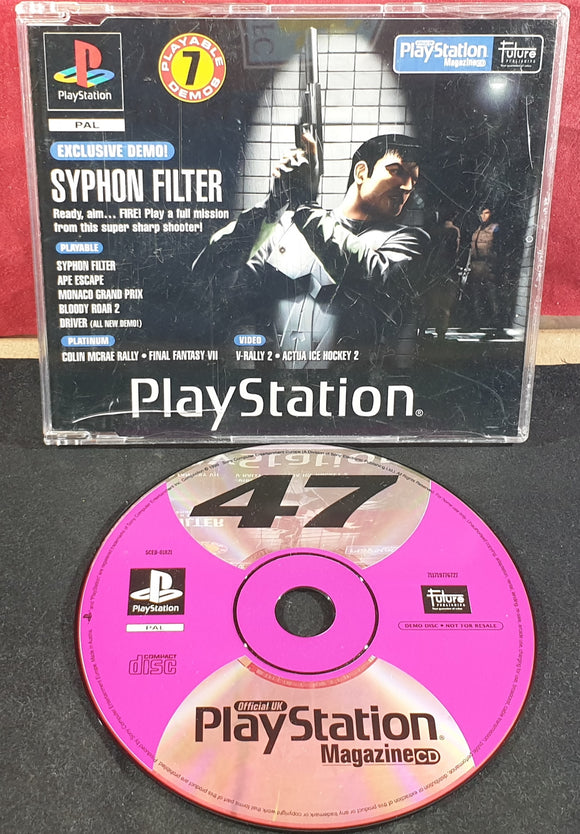 Sony Playstation 1 (PS1) Magazine Demo Disc 47