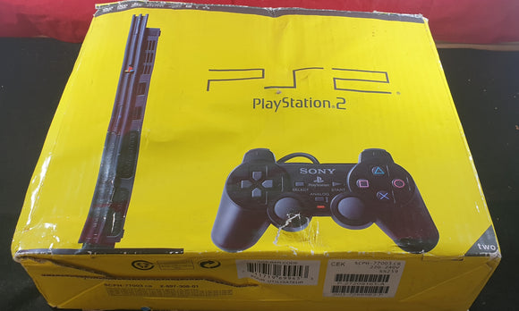 Boxed Sony Playstation 2 (PS2) SCPH 77003 Slim Console with Memory Card