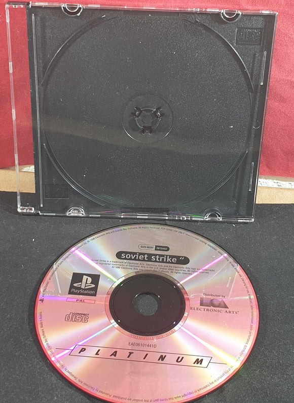 Soviet Strike Sony Playstation 1 (PS1) Game Disc Only