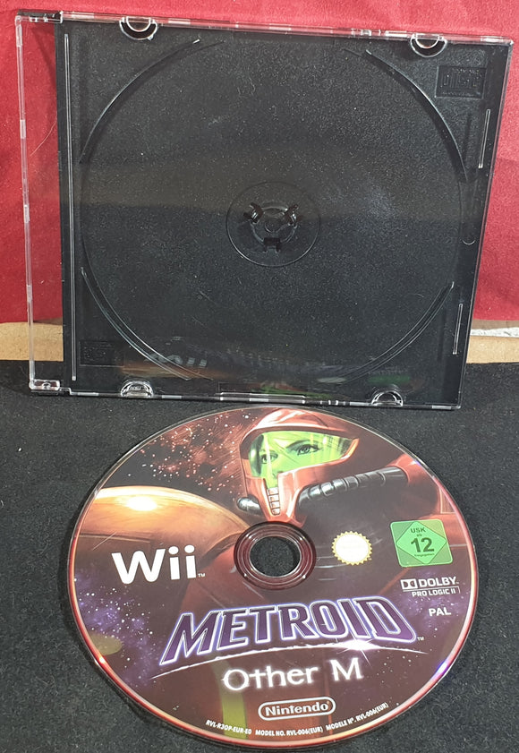 Metroid Other M Nintendo Wii Game Disc Only