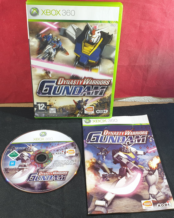 Dynasty Warriors Gundam Microsoft Xbox 360 Game
