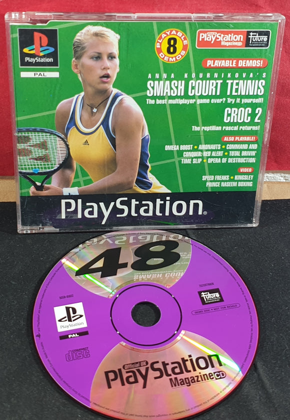 Sony Playstation 1 (PS1) Magazine Demo Disc 48