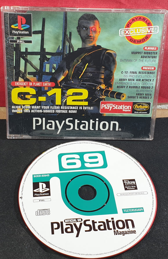 Sony Playstation 1 (PS1) Magazine Demo Disc 69