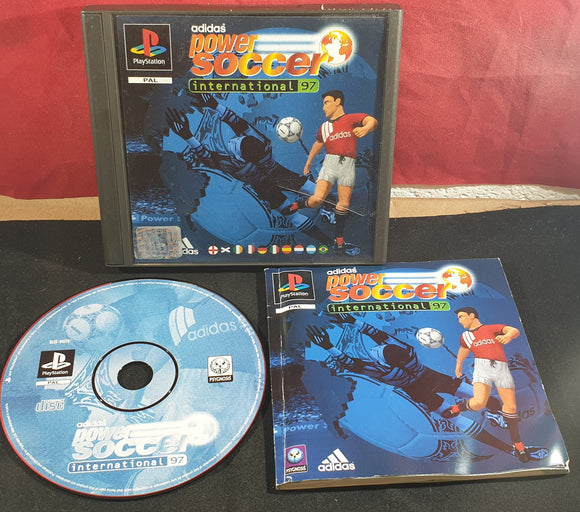 Adidas Power Soccer 97 Sony Playstation 1 (PS1) Game