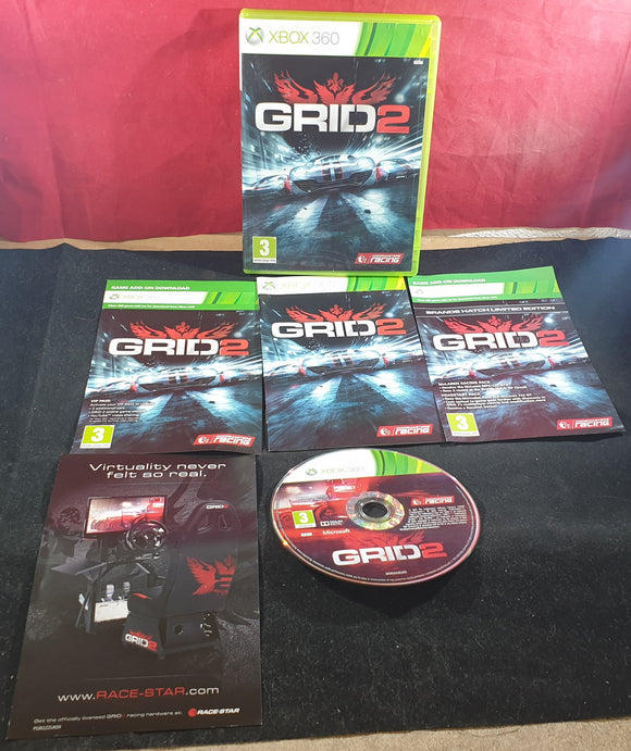 Grid 2 Microsoft Xbox 360 Game