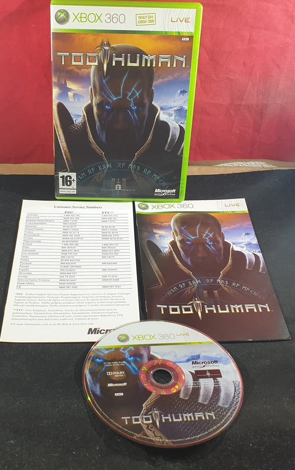 Too Human Microsoft Xbox 360 Game