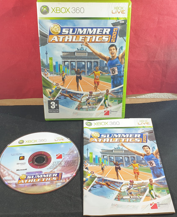 Summer Athletics 2009 Microsoft Xbox 360 Game
