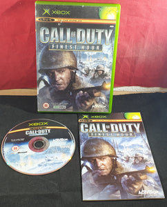 Call of Duty Finest Hour Microsoft Xbox Game