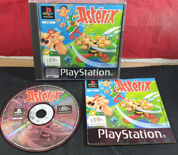 Asterix Sony Playstation 1 (PS1) Game