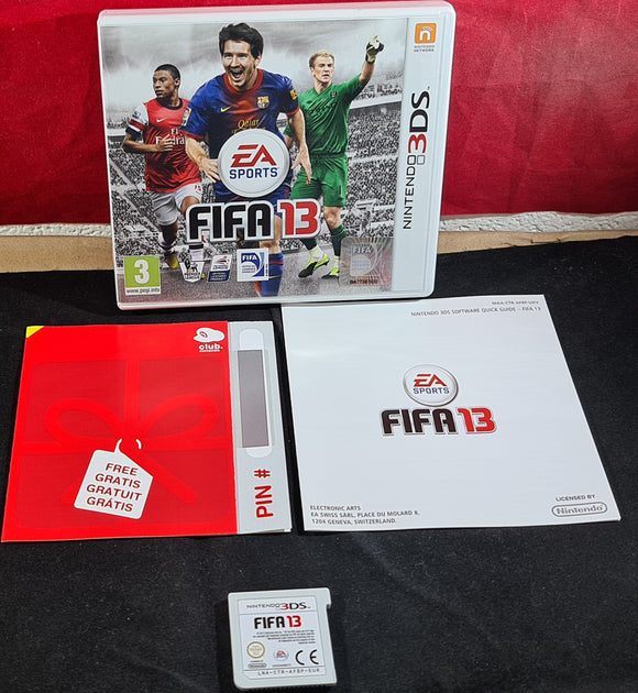 FIFA 13 Nintendo 3DS Game