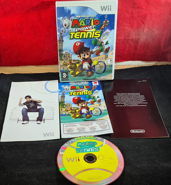 Mario Power Tennis Nintendo Wii Game