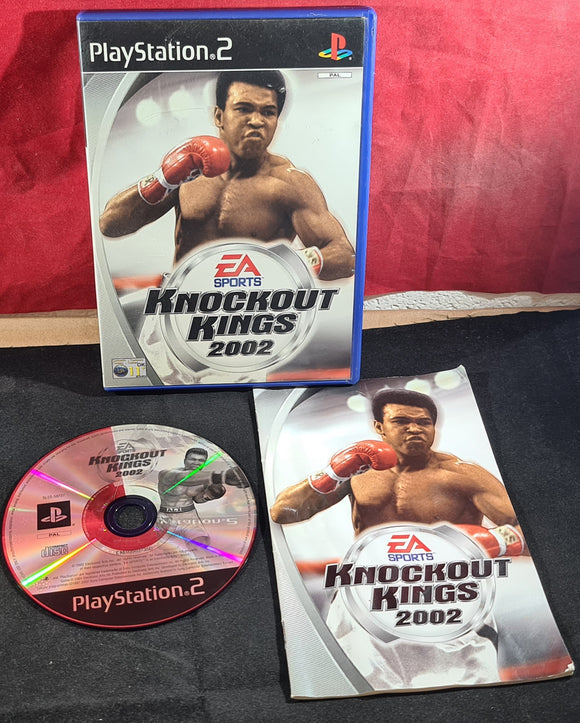 Knockout Kings 2002 Sony Playstation 2 (PS2) Game