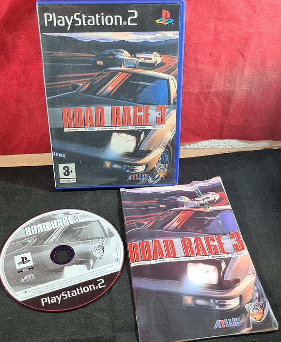 Road Rage 3 Sony Playsttaion 2 (PS2) Game