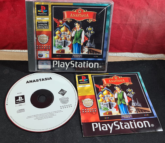 Anastasia Sony Playstation 1 (PS1) Game