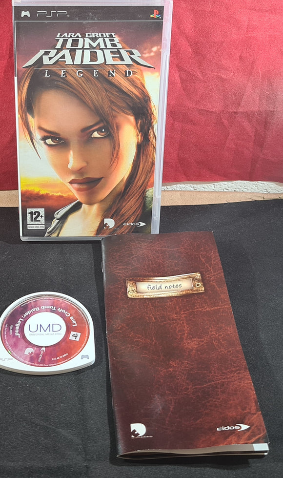 Lara Croft Tomb Raider Legend Sony PSP Game