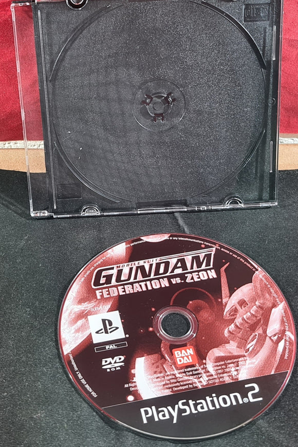 Mobile Suit Gundam Federation Vs Zeon Sony Playstation 2 (PS2) Game Disc Only