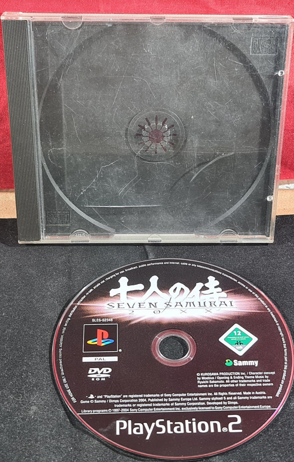 Seven Samurai 20XX Sony Playstation 2 (PS2) Game Disc Only