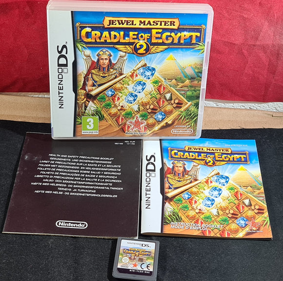 Jewel Master Cradle of Egypt 2 Nintendo DS Game