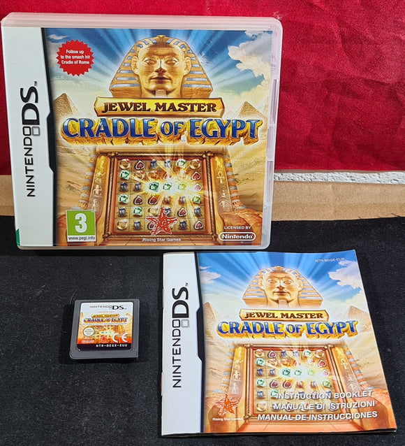 Jewel Master Cradle of Egypt Nintendo DS Game