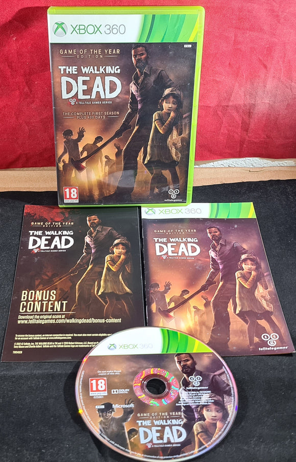 The Walking Dead A Telltale Series Game of the Year Edition Microsoft Xbox 360 Game