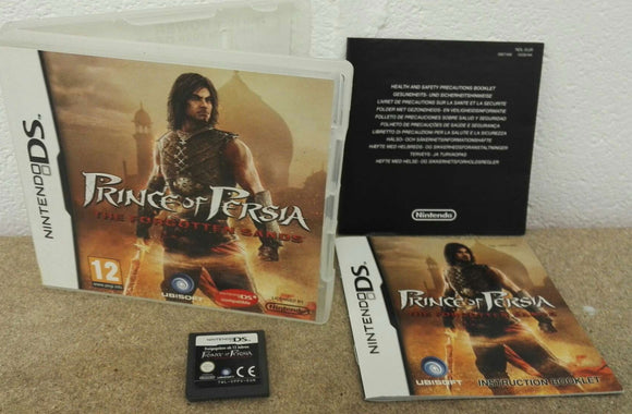 Prince of Persia Forgotten Sands Nintendo DS Game