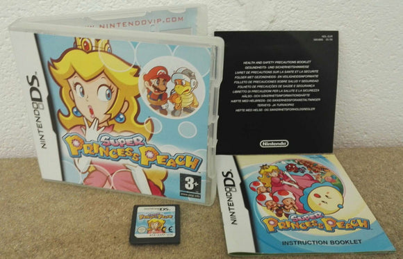 Super Princess Peach Nintendo DS Game