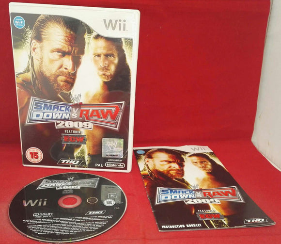 WWE Smackdown VS Raw 2009 Nintendo Wii Game