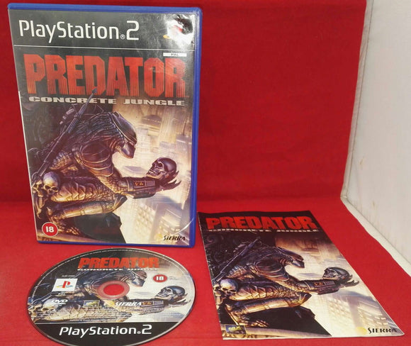 Predator Concrete Jungle Sony Playstation 2 (PS2) VGC