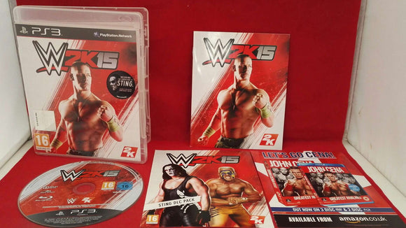 WWE 2K15 Sony Playstation 3 (PS3) Game