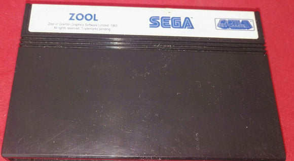 Zool Sega Master System Game Cartridge Only